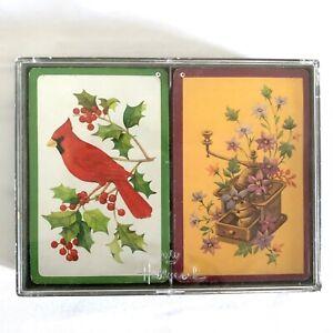 Elegance Hallmark Bridge Plastic Coated Playing Cards Animal Pattern