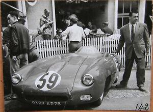103 . 24 Heures Du Mans . 1 X Photo . Monopole X 84 . 1953 . Format : 12 X 9 Cm Handicap Structurel