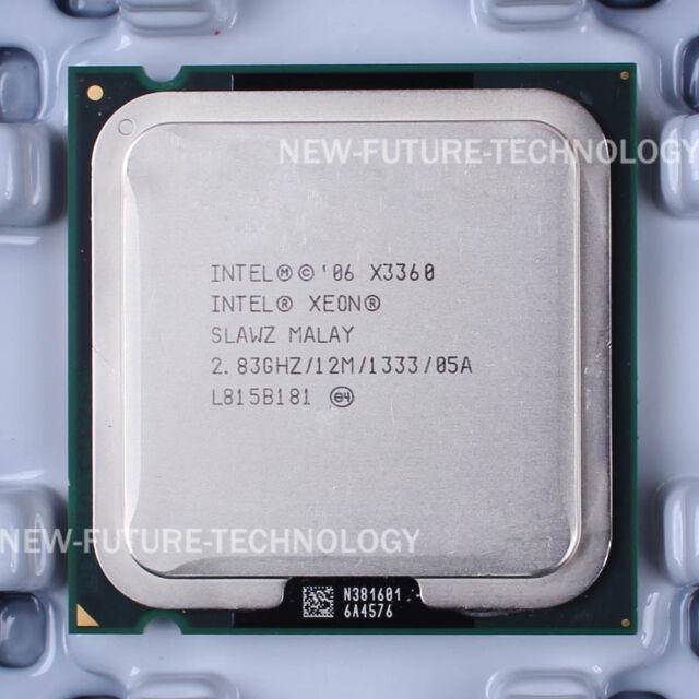Intel Xeon X3360 (EU80569KJ073N) SLAWZ SLB8X CPU 2.83GHz 1333MHz LGA 775 100% OK