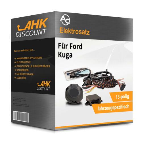 Kuga 03.08-02.13 AC Elektrosatz 13polig fahrzeugspezifisch Neuware ESatz für AHK