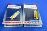 Qvs Cc336-fs, Slim Gender Changer, Db25f/f, 25 Pin Female, Lot Of 4, Sealed