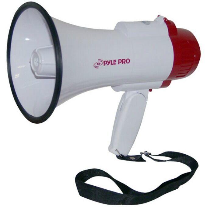 MEGáFONO rojo rojo rojo PYLE PMP35R 30 WATT CON SIRENA ES REGISTRO VOCAL 10 SEGUNDOS 1d91c0