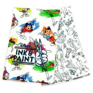 Disney-Parks-Ink-and-Paint-Tea-Towels-Set-of-2-Kitchen-Towel