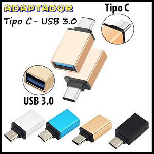 Adaptador-Tipo-C-3-1-Macho-a-USB-3-0-Hembra-OTG-Conector-Conversor-Datos