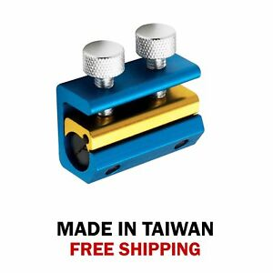 Dual Screw Cable Luber Lubing Lubricator Tool Motorcycle ATV Blue