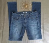PAIGE Jeans 28 Womens Peg Skinny Ankle Medium Wash Low Rise 5 Pocket Denim