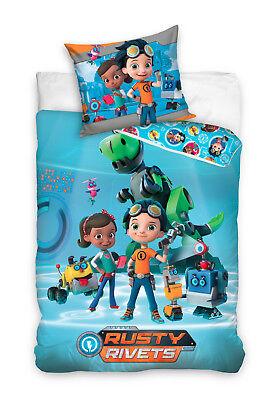 Rusty Rivets Nickelodeon Rr172004 Kinderbettwäsche 140 X 200 Cm Te Koop