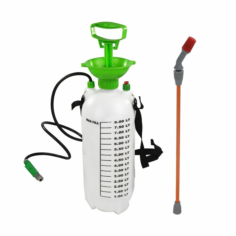 Garden Pressure Sprayer Knapsack Chemical Weed Killer Fence Water Bottle Pump