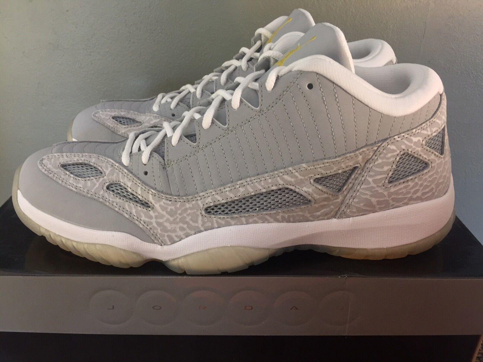 2018 nike air jordan 11 retro precio reducción baja DS zapatos comodo el último descuento zapatos DS para hombres y mujeres 36c2a3