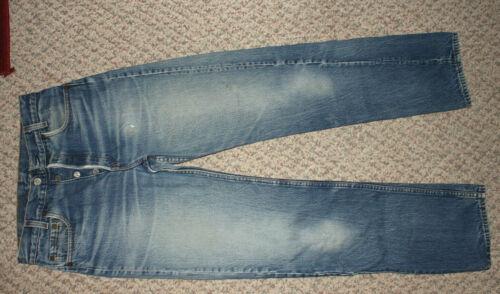 Levis 701 Blue Jeans Size Tag 30 x 32 Student Fit