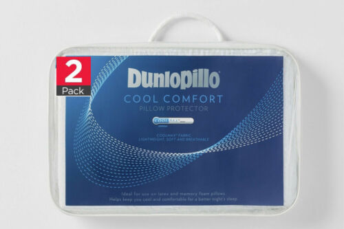 Dunlopillo 2-Pack Cool Comfort Pillow Protector