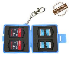 Turtle-SD4MSD8 staubsichere Schutzbox für 4 Stück SDHC und 8 Stück MicroSD