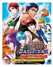 DVD Anime Kuroko No Basket Session 1-3 Vol 1-78 End + Tip Off + Special + NG