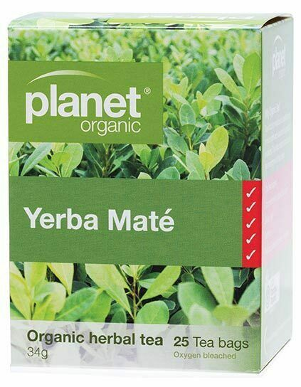 Planet Organic Organic Herbal Tea Bags - Yerba Maté x25