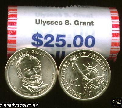 2010 Franklin Pierce Presidential 25 Coin Uncirculated Unopened Mint Roll H//T /'P