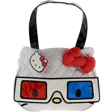 $48 Hello Kitty 3D Face Bag (white / red / blue)