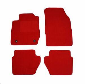 rot Premium Velours Fußmatten für Audi 100 /A6 (C4) 90-1997 | eBay