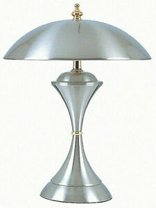 3-Step-Brightness-Satin-Brushed-Chrome-Touch-Lamp-15-034-Tall