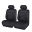 Car-Seat-Covers-Mesh-Fabric-6-Pieces-Five-Color-Car-Accessories-for-2-Font-Seats thumbnail 1