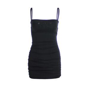 Lady-Sexy-Bodycon-Strap-Sleeveless-Stretch-Short-Mini-Dress-Clubwear-Slim-Dress