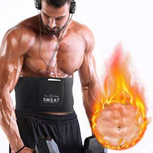 classic style of 2019 hot-selling discount shop for original Details about Men&Women Sauna Belt Workout Shapewear With Pocket Sweat Fat  Burner Body Shaper