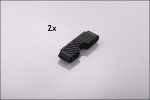 2x Original VEGO toit ouvrant GLEITSTÜCK Clip Support Caoutchouc Support Sunroof