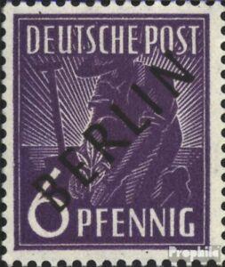 Berlin (West) 2 unmounted mint / never hinged 1948 Black Imprint