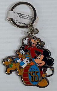 Disney keychain collection Mickey Goofy Donald Pluto Minnie Stitches Original