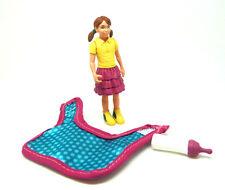 U30) Schleich  Mädchen mit Milchflasche und Fohlendecke Schleichtier Pferd