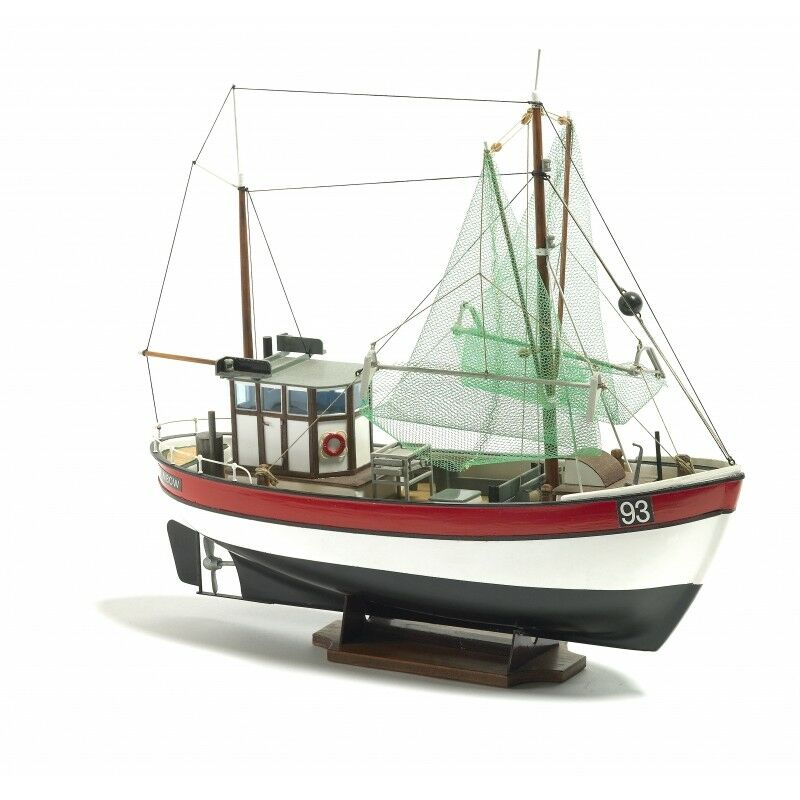 Billing Boats 1 60 Scale Rainbow Fishing Cutter Model Construction Kit B201