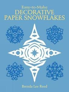 Reed-Brenda-Lee-Easy-to-Make-Decorative-Paper-Snowflakes-Very-Good-Book