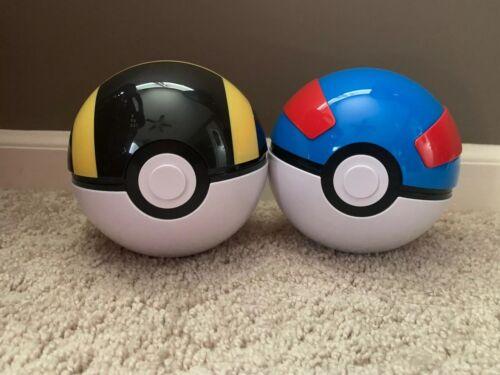 Pokemon Empty Great /& Ultra Ball Card Storage From Hidden Fates Poke Ball Box