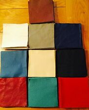"""100% Genuine Leather 10 di 4"""" Quadrato Patchwork Fascino Pack Craft SCAMPOLI RITAGLI"""