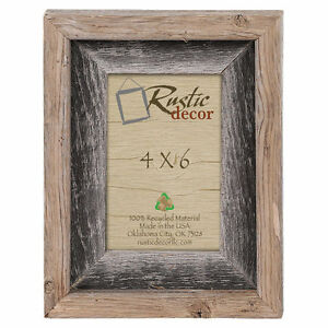 4x6-2-034-Wide-Signature-Reclaimed-Rustic-Barn-Wood-Picture-Frame