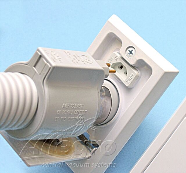 NuTone CI358 Central Vacuum Direct Connect Electrified Inlet White