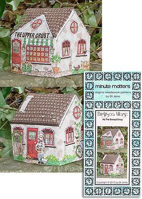 Cross Stitch Bread Shop Pattern 3D BrightSea Village #6 by Elli Jenks