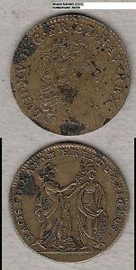 France-Louis-XV-Jeton-Rechenpfennig-wohl-Neumann-30035-ca-26-mm-stampsdealer