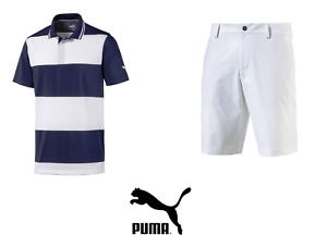 New Puma Outfit Jackpot Golf Shorts Rugby Polo Shirt Pick Size Ebay