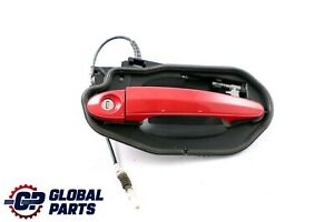 BMW X3 Series E83 Complete Front Right Grab Handle O/S Karmesinrot A61