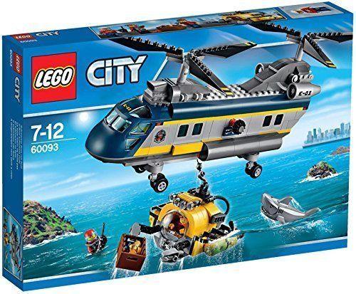 Lego ciudad Explorer deep sea Helicopters