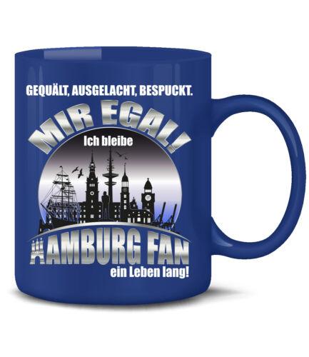 Hamburger Tasse Fan Becher Sport Artikel Geschenk Idee Sport 1887 Ultra Fussball
