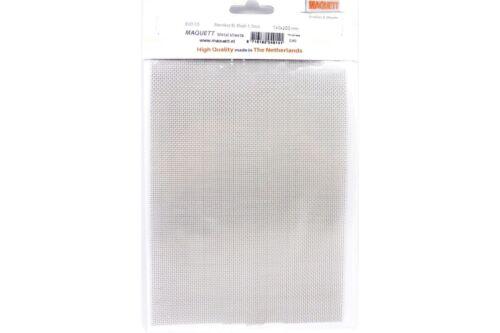 Maquett Raboesch 82-005 Metal Sheets Stainless Steel 1,1mm 140x220x08mm