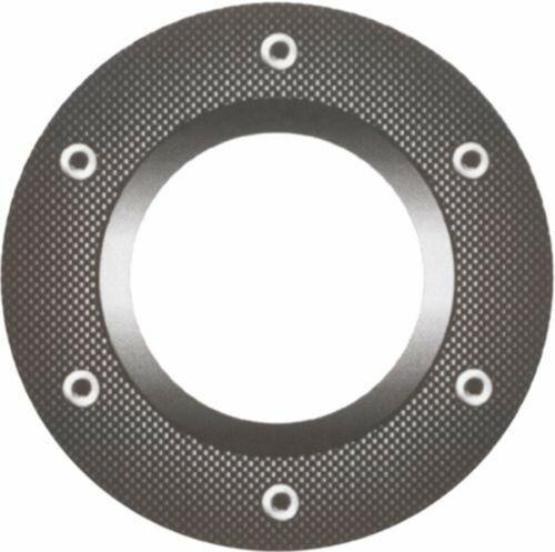 Aufkleber Attrappe Felgenring Carbon-Design Ø 160 mm  Sticker