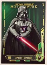 Star Wars Masterwork 2019 Base Card #9 Darth Vader