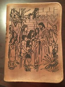 Personalized Leather Scripture Case