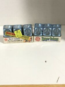 6-GE-Super-Cubes-Flash-Cubes-24-Flashes-New-Sealed-Packages