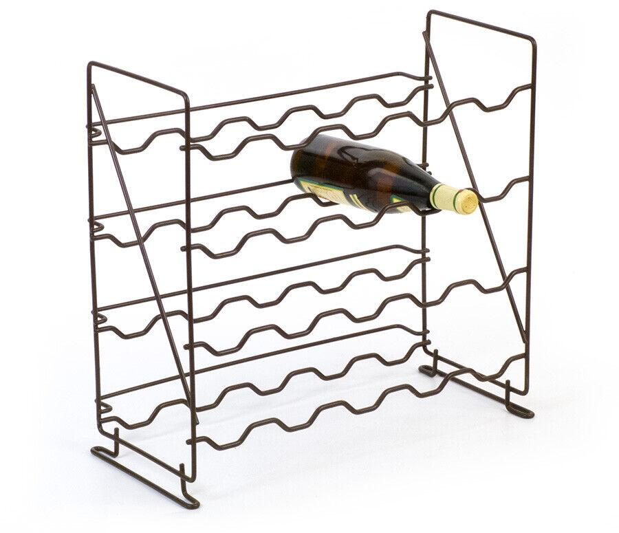 Wein-Flaschen-Metall-Regal-Ständer für 20 Flaschen wine-shelf | Heißer Heißer Heißer Verkauf  30b53f