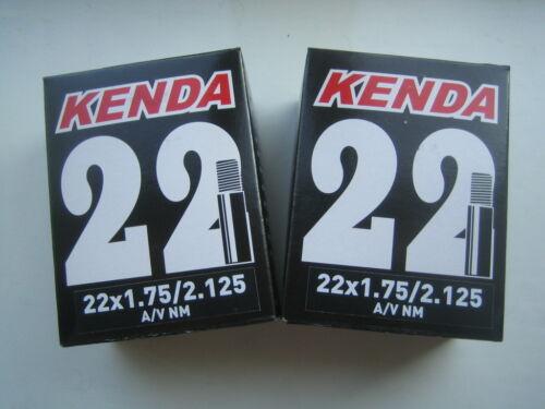 Car Valve Kenda 22 x 1.75 1.95-2.125 BMX Cycle Bike inner tube Schrader