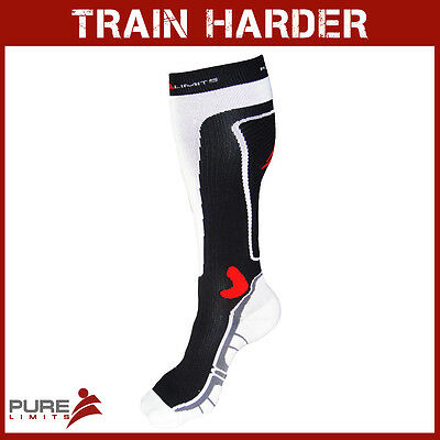 Pure Limits CrossFit Woven Compression Socks with Reinforced Front