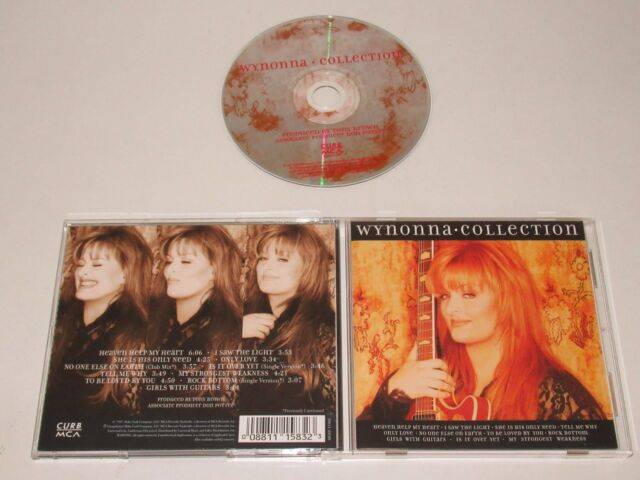 WYNONNA/COLLECTION(CURB-MCA MCAD-11583) CD ALBUM